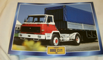 Dodge C17T 1980 Truck framed picture